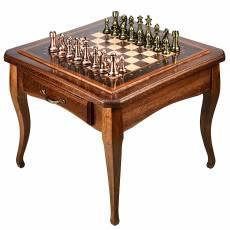 Шахматный стол из дерева с ящиками RV0037925CG