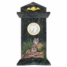 """Часы из камня настольные """"Волки"""" RV0046992CG"""