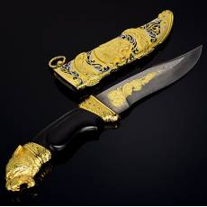 "Оружие сувенирное, нож ""Волк"" Златоуст RV0048009CG"
