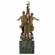 """Бронзовая статуэтка """"Рабочий и колхозница"""" RV0046922CG"""