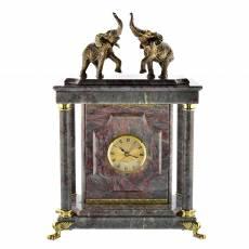 "Часы - сейф из камня ""Слоны"" RV0037821CG"