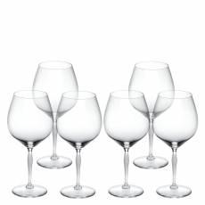 Набор из 6-и бокалов для вина Burgundy 100 Points Lalique 10332000