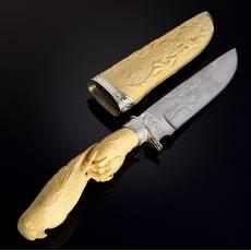 """Нож сувенирный """"Кречет"""" из бивня мамонта RV0048852CG"""