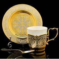 Кофейный набор. Златоуст RV0048401CG