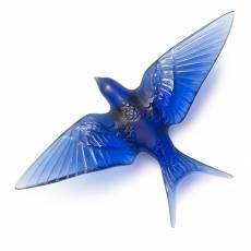 Настенная статуэтка ласточка с опущенными крыльями Hirondelles Lalique 10625100
