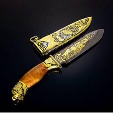 """Нож подарочный """"Пума"""" Златоуст RV0038222CG"""