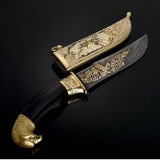 "Нож ""Орел"" Златоуст RV0016428CG"