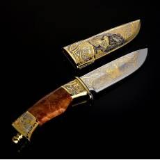 "Нож сувенирный ""Глухарь"" Златоуст RV0044834CG"