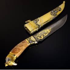 "Нож сувенирный ""Сокол"" Златоуст RV0039034CG"