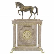 """Часы - сейф из камня """"Лошадь"""" RV0039252CG"""