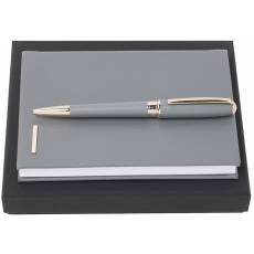 Подарочный набор: блокнот А6, ручка шариковая HPBM707J