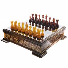 Шахматы с фигурами из янтаря RV0039293CG