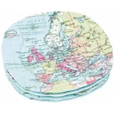 "Набор тарелок ""Карта мира"" 82173"