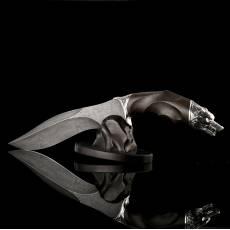"Нож авторский ""Матерый 2"" с подставкой RV0020351CG"