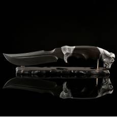 """Нож авторский """"Буйвол"""" с подставкой RV0050912CG"""