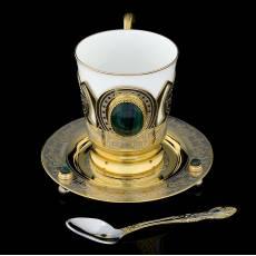 """Чайный набор """"Малахитовый"""" Златоуст RV0052137CG"""