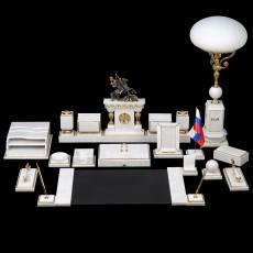 """Настольный набор для руководителя """"Царский"""" с лампой, VIP RV0039460CG"""