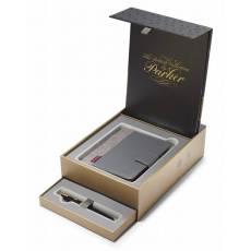 Набор ручка перьевая+органайзер Parker Sonnet F530 1978407