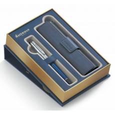 Набор Waterman ручка перьевая+чехол для ручки Expert 3 DeLuxe 1978713