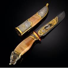 """Нож сувенирный """"Кабан"""" Златоуст RV0030831CG"""