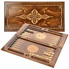 Нарды деревянные резные c орнаментом RV0010762CG