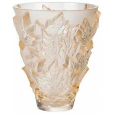 """Ваза для цветов золотая """"Champs-Elysees"""" Lalique 10598500"""