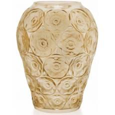 """Ваза для цветов золотая """"Anemones"""" Lalique 10518500"""