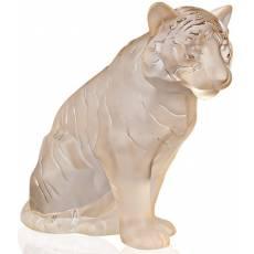 """Статуэтка """"Тигр"""" большой золотой Lalique 10550000"""