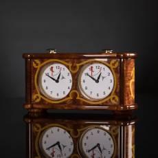 Шахматные часы в стиле барокко AVTSH146
