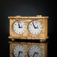 Шахматные часы (карельская береза) AVTSH147