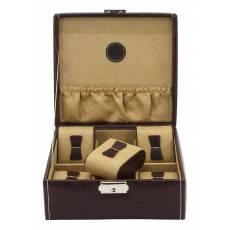 Шкатулка для хранения 6 часов Friedrich Lederwaren от Champ Collection 20121-3