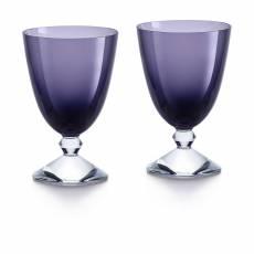 """Набор из 2-х фиолетовый бокалов для вина """"VEGA"""" Baccarat 2812264"""