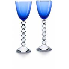 "Набор из 2-х синих бокалов для вина ""VEGA"" Baccarat 2812267"