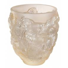 """Ваза для цветов золотая """"ROSETAIL"""" Lalique 10684600"""