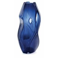 """Ваза для цветов """"Manifesto"""" синяя Lalique 88038500"""