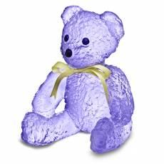 """Статуэтка """"Плюшевый мишка"""" фиолетовый Daum (Лимитированная серия 375 экз) 05271-6"""
