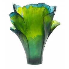 """Ваза для цветов """"Magnum Ginkgo"""" зеленая (h=52) Daum (Лимитированная серия 99 экз.) 05107"""