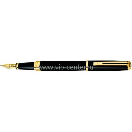 Перьевая ручка Waterman Exception Slim Black GT  S0636930