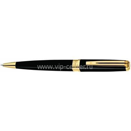 Шариковая ручка Waterman Exception Slim Black GT S0636960