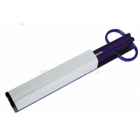 Набор: нож + ножницы на подставке Blue Magic Lerche 97006