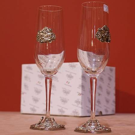 Набор бокалов для вина на две персоны Gamma 2023002