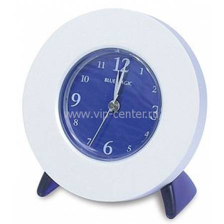 Часы-будильник настольные Blue Magic Сhrome Lerche 71104
