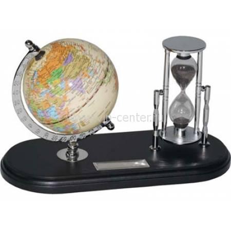"""Набор с глобусом на черной подставке """"Время и мы"""" 615300"""