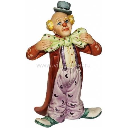 "Статуэтка ""Клоун с галстуком-бабочкой"" La Medea 627/MED"