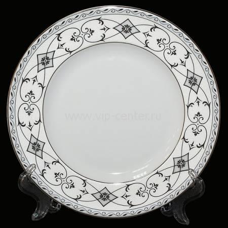 """Набор из 6-ти десертных тарелок """"Элегия"""" Glance J06-073WH-PL3"""