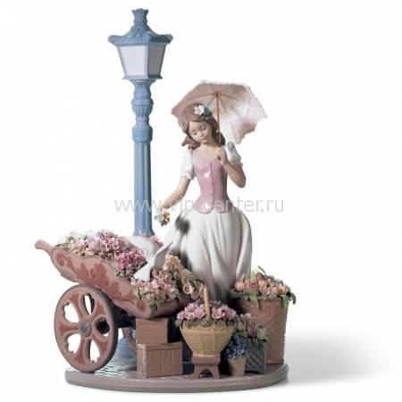 """Статуэтка """"Цветы для каждого"""" Lladro 01006809"""