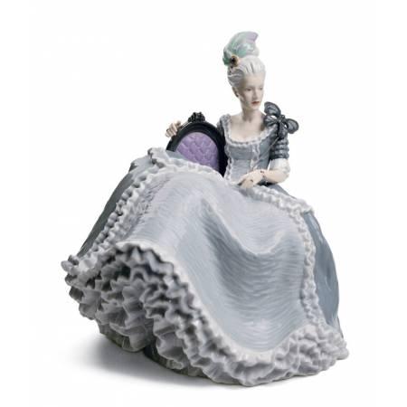 "Статуэтка ""Дама рококо на балу"" Lladro 01008423"