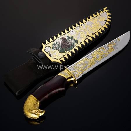 "Нож ""Украшенный"" Златоуст RV13165CG"