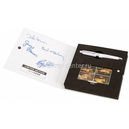 """Набор The Beatles """"WHITE ALBUM"""": визитница, ручка роллер 50745"""