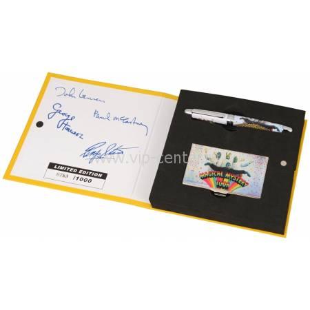 "Набор The Beatles ""MAGICAL MYSTERY TOUR"": визитница, ручка роллер 50749"